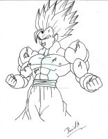I am Ultra Gogeta!!!!! by DavidsKovach