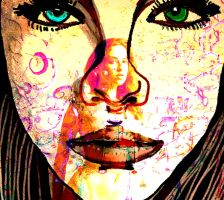 Face Series15(colorful4) by kennykhh