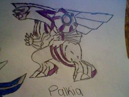 Palkia by BlackRoseLegend
