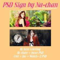 PSD Sign_Seohyun ft Sooyoung-SNSD by huyetniufire