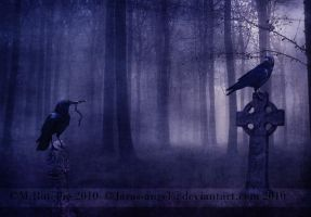 Courtship of Crows by Lissaburd