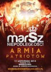 Independence March 2014 in Warsaw official poster by N4020