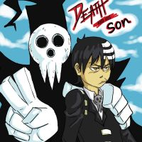 Lord Death and Kid_Soul Eater by ErisLeea