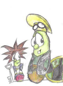 Veggietales Kingdom Hearts by Kenny-boy
