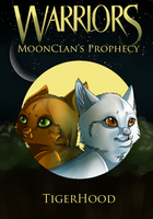 MoonClan's Prophecy - Book Cover by Moon-DaZzLe
