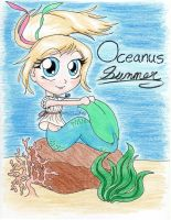 Gift--Mermaid Summer by KittyCowLexa