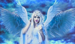 The angel by annemaria48