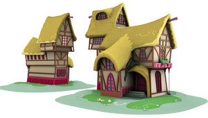 Ponyville Model - OGB_2 (Game/Animation) by discopears