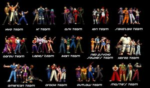 MUGEN Kof Dream Team Part1 by kaztelli