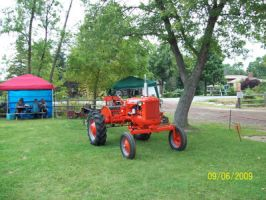 Orange Tractor Picture by Musicislove12