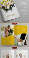 Wedding - Brochure Template by DOMDESIGN