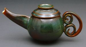 curly tea pot by cl2007