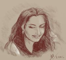 Woman Portrait by Fihril