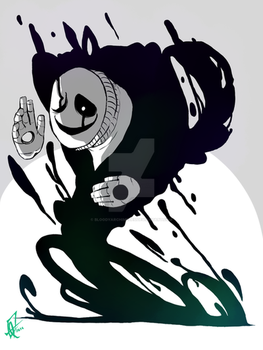 UNDERTALE - The void - by BloodyArchimedes