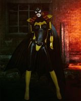 Batgirl (Iray) by Le-Arc-7thHeaven