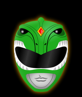 Dragon Ranger Helmet by Yurtigo