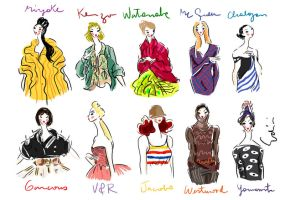 Fashion Figures Tribute by samycat