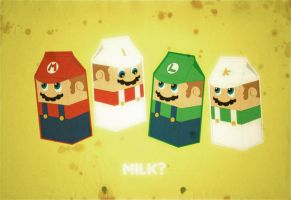 super milk bros by ricoweirdo
