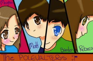 My Cool Group of Peeps by XXnightstreamXX