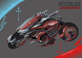 WITCHBLADE RAZORBACK by dagova