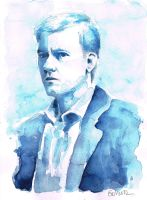 A Study in Watercolor - Greg Lestrade by Gohush