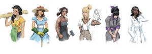 Character Designs by ImSkeptical
