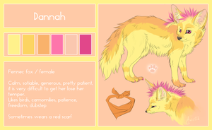 Dannah Ref Sheet 2013 by Aniritak