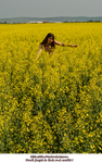 Miha3lla model in yellow flower field  (5) by Miha3lla