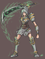 Riven Speedpaint by bulletproofturtleman