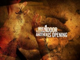 closed door by another-modus