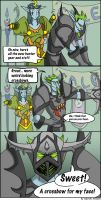 Warcraft Comic: For Your Face by Outerspacien