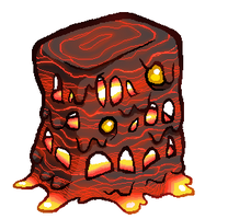 Minecraft Magma Cube by SirCaterpie