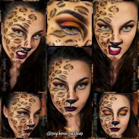 Leopard prints II by psychoren