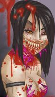 Mileena - femme fatality by EvilCreampuff