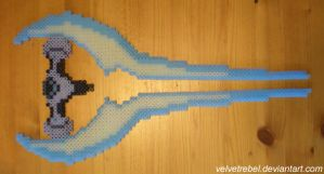 Energy Sword - Perler Beads by VelvetRebel