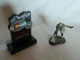 101st Airborne Iraq 2003 Figure and Award by Kingtiger2101