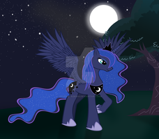 Luna the princess of the night by Ravenshade666