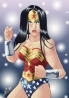 Wonder Woman: tried to speed paint T_T by eisu