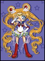 - Collab Super Sailor Moon - by Cyberbirdy