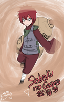 Sabaku no Gaara by malengil