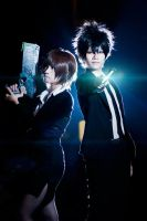Psycho Pass -  in one team by ikabii