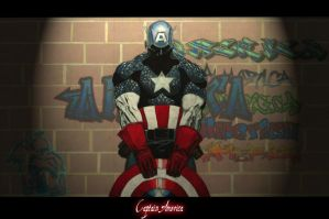 Captain America by TheCaptainSteve