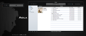 Aeila for iTunes 10 - Windows by Masaliukas