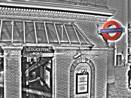 Gloucester Road Underground by Sc1r0n