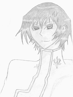 Lelouch Lamperouge portrait by Masanohashi