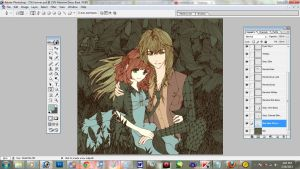 YOU-cee: Ukyo x Herione WIP by YOU-cee