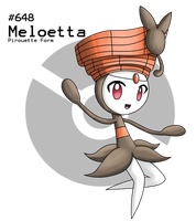 Meloetta - Pirouette Form by Latiar