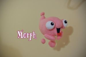 Morph Plush - Disney Treasure Planet by hiyoko-chan