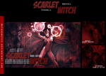 Scarlet Witch(TAGWALL) by MayaGenetic