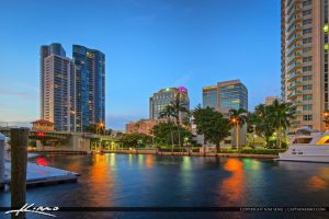 Fort-Lauderdale-Downtown-along-the-New-River-Browa by CaptainKimo